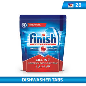 Finish All In One Finish Power Ball 28Tabs 456g