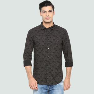Louis Philippe Men's Casual Printed Shirt LS LRSFCSSPZ27199