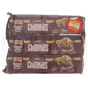 Britannia Good Day Chocolate Chip Cookies 125g x 3pcs