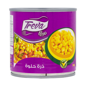 Treva Whole Kernel Sweet  Corn 340g
