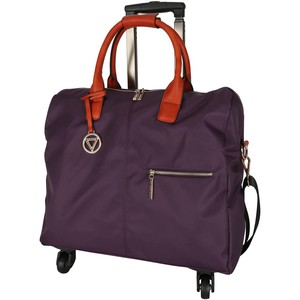 Cortigiani Women's Bag With Trolley 4Wheel 1023 Assorted Color