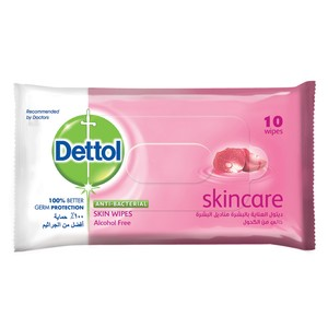 Dettol Skin Wipes Skincare 10pcs