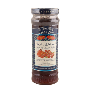 St. Dalfour Raspberry & Pomegranate Spread 284g