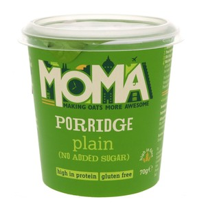 Moma Porridge Plain Oats 70g