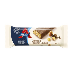 Atkins Hazelnut Crunch Chocolate 60g