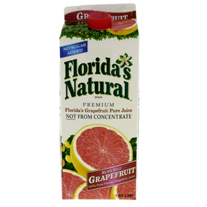 Floridas Natural Pure Red Grape Fruit Juice 1.8Litre