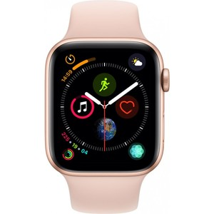 Apple Watch Series 4 - GPS 44mm Gold Aluminium Case with Pink Sand Sport Band