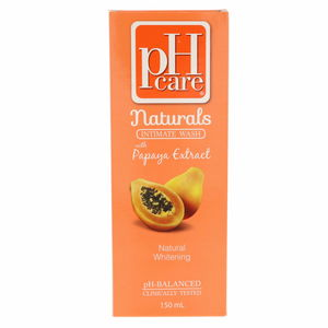 PH Care Naturals Intimate Wash With Papaya Extract 150ml
