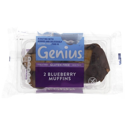 Genius Blueberry Muffins 190g