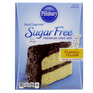 Pillsburry Sugar Free Premium Cake Mix Classic Yellow 454 Gm