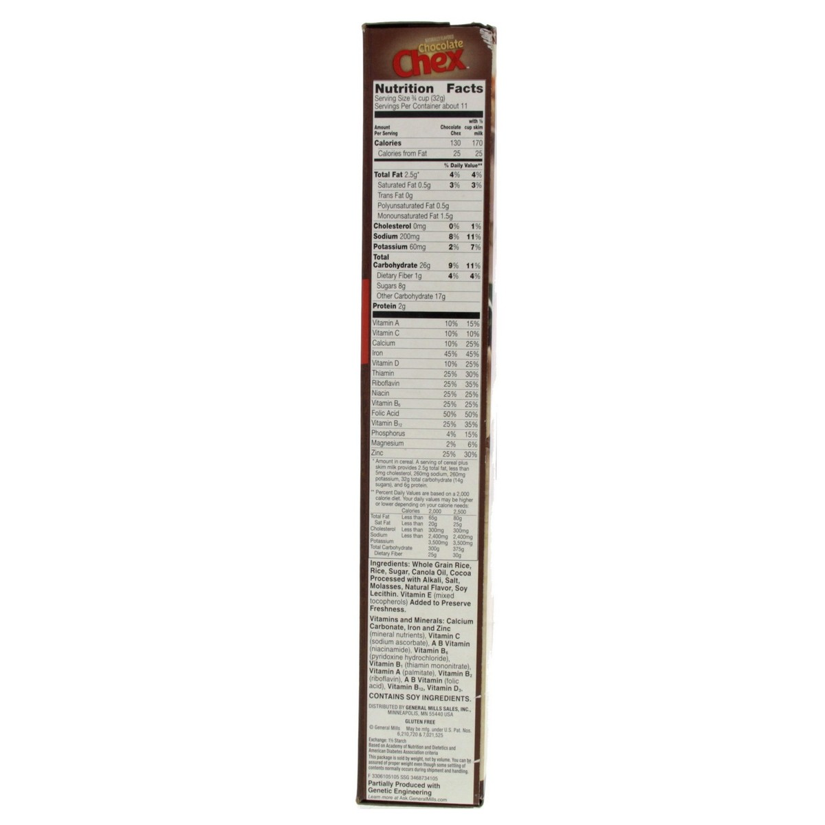 Chocolate Chex Rice Cereal 362g