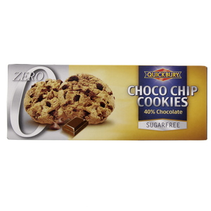 Quickbury Choco Chip Cookies 135g