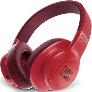 JBL Wireless Over-Ear Headphones E55 Red