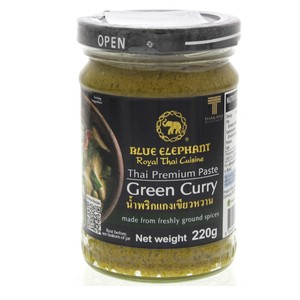 Blue Elephant Green Curry Paste 220g
