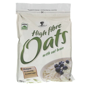 Heart Land High Fiber Oats with Oat Bran 750g