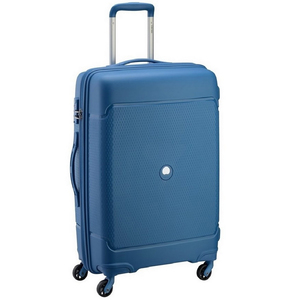 Delsey Sejour 4 Wheel Hard Trolley 66cm Blue