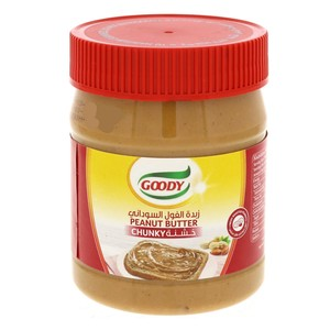 Goody Peanut Butter Chunky 340g