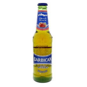 Barbican Peach Non Alcoholic Malt Beverage 330ml