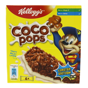 Kellogg's Coco Pops Snack Bar 6 Bars
