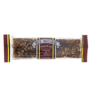 Bee Natural Walnut & Date 50g