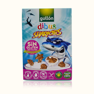 Gullon Dibus Sharkies Biscuit Gluten Free 250g