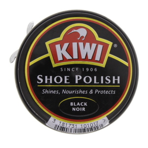 Kiwi  Shoe Polish Black 50 ml