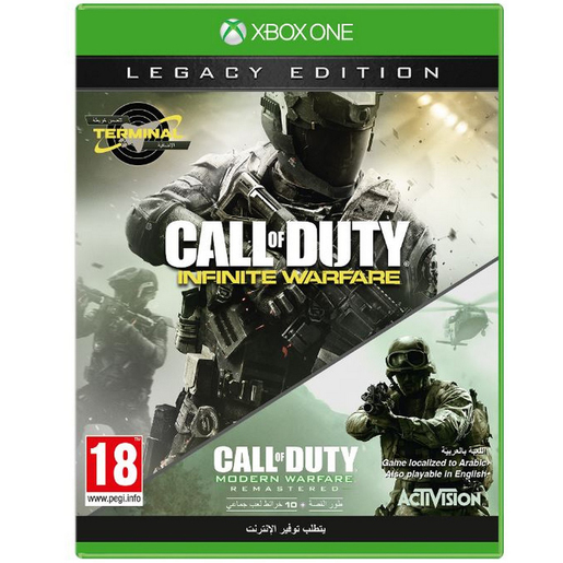 Buy Xbox One Call Of Duty Infinite Warfare Legacy Edition