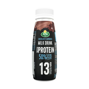 Arla Protein 50% Less Sugar Chocolate Protein Milk 250ml