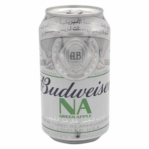 Budweiser  Non Alcoholic Green Apple Drink 355ml