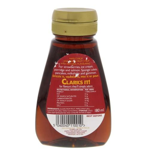 officiella bilder webbutik låga priser Buy Clarks Maple Syrup Original 180 ml Online - Lulu Hypermarket KSA