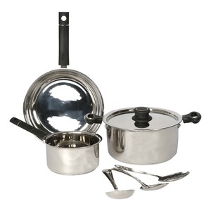 Chefline Stainless Steel Cookware Set 7pcs