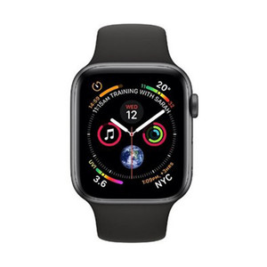 Apple Watch Series 4 MTVU2AE GPS + Cellular, 44mm Space Grey Aluminium Case with Black Sport Band