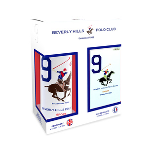Beverly Hills Polo Club Sport 9 EDT for Men 100ml + Beverly Hills Polo Club Sport 9 Deodorant 175ml