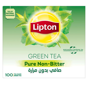 Lipton Green Tea Pure Non Bitter 100pcs