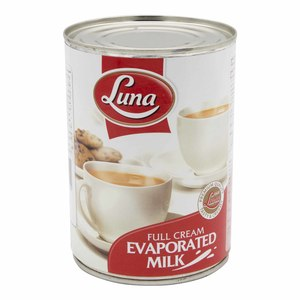 Luna Full Cream Evaporated Milk 410g