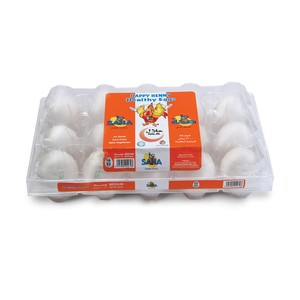 Saha White Eggs Medium 15pcs