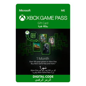 Xbox Game Pass - 1 Month [Digital Download]