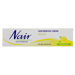 Nair Hair Removal cream for silky and Smooth skin lemon fragrance  110g