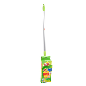 Scotch Brite Easy Sweeper + Wet Disposable Cleaning Cloth Refills