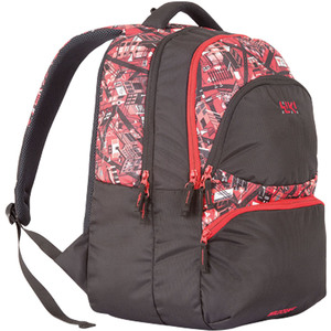 Wildcraft School Backpack City 5 Punk Red 13inchx18.5inch