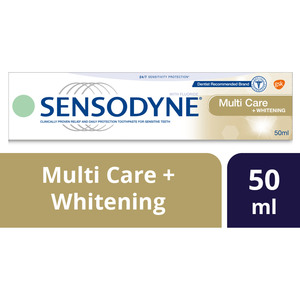Sensodyne Toothpaste Multi Care Plus Whitening 50ml