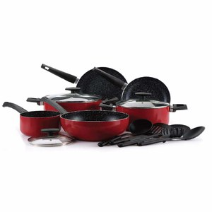 Bergner Ultra Aluminium Cookware Set 14pcs