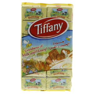 Tiffany Glucose Milk & Honey Biscuits 50g