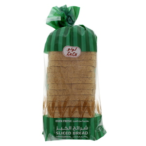 Lulu Oven Fresh Sliced Bread Whole Meal 625g