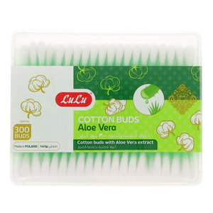 Lulu Aloevera Cotton Buds 300Pcs