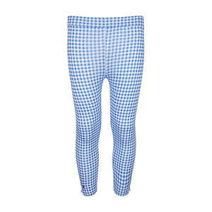 Eten Girls Blue Check Jegging Pant 10-16Y