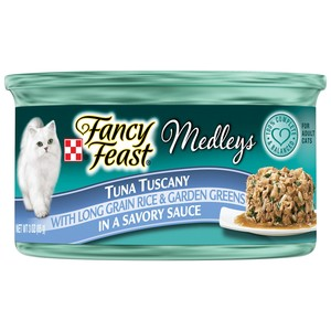Purina Fancy Feast Medleys Tuna Tuscany Wet Cat Food 85 Gm