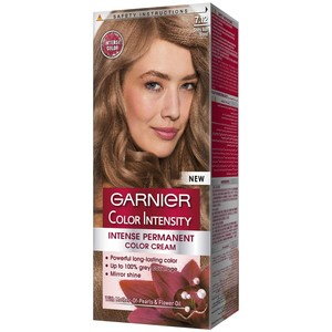 Garnier Color Intensity 7.12 Shiny Ash Blonde Hair Color 1 Packet