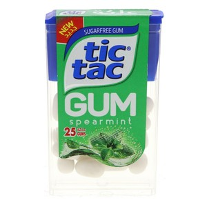 Tic Tac Gum Spearmint 25 Pellets