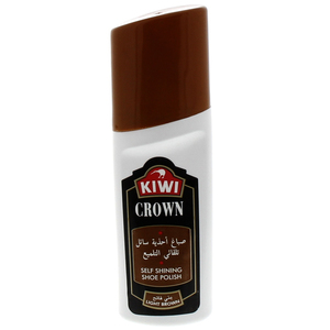 Kiwi Crown Self Shining Shoe Polish Light Brown 75 Ml